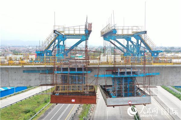 印尼雅万高铁建设取得又一重要进展