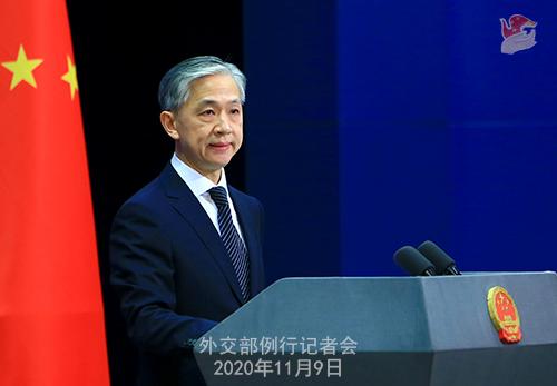 外交部:中国开放的大门会越开越大