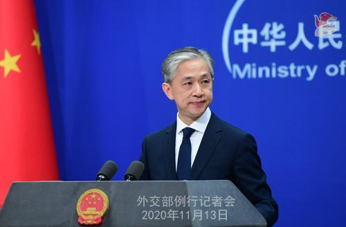 外交部:任何干涉中国内政行径都会遭到坚决回击