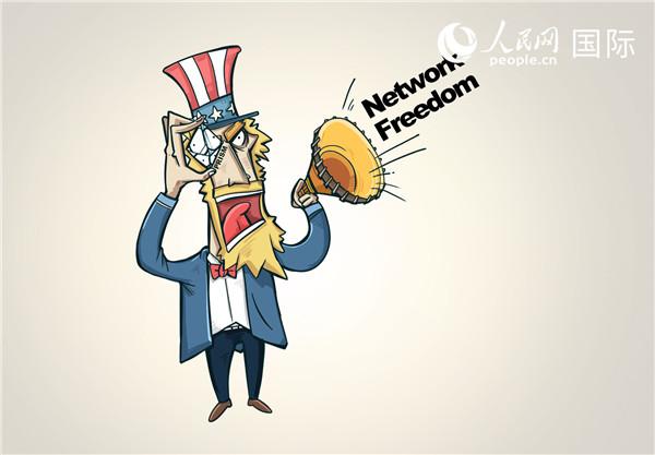 漫画作者:陆凌兴 (人民网版权图片,未经授权,请勿转载。)
