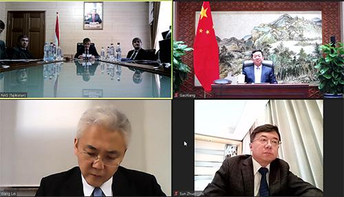 """""""中塔'一带一路'合作:机遇与挑战""""视频会议举行"""