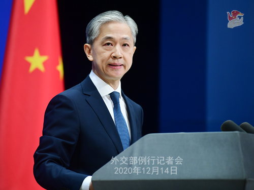 外交部:坚决反对美国政府无端打压中国企业