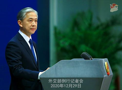 外交部:中方坚决打击新冠疫苗非法外流等违法犯罪活动