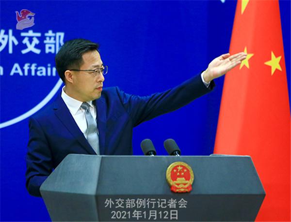 蓬佩奥再发污蔑中国言论外交部:颠倒黑白的能力登峰造极