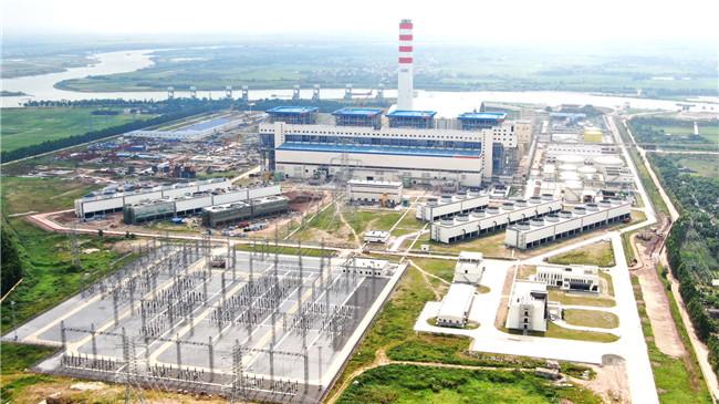 越南海阳电厂全景。海阳电厂供图