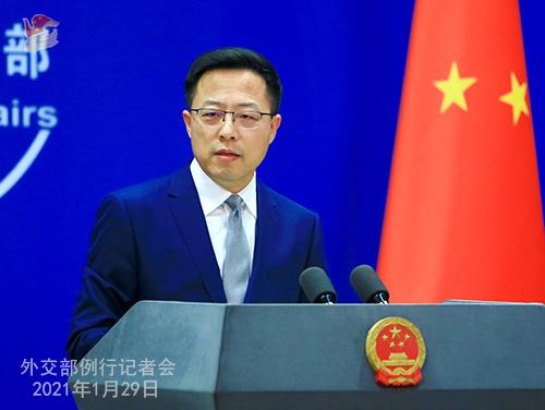 驳斥美政客涉疆错误言论外交部发言人连说三遍:中国没有种族灭绝