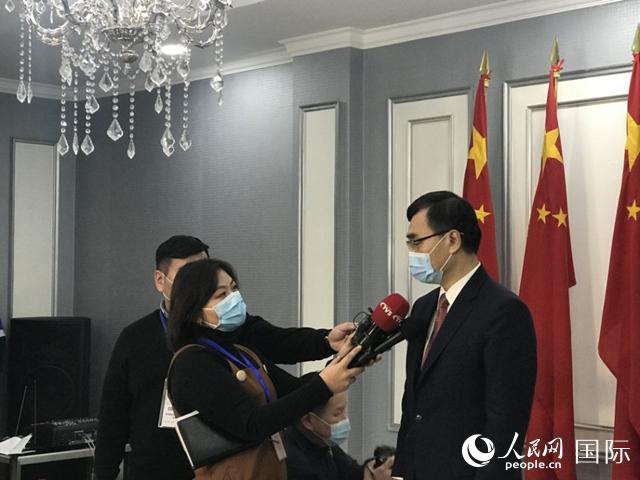 中国援助新冠疫苗运抵蒙古国柴文睿大使:见证中蒙两国患难与共