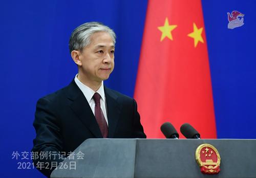 交际部:中国消除绝对贫困是对世界人权进步事业的重要孝敬