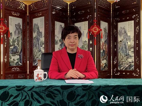 """乌兹别克斯坦汉语解说机构师生""""云端""""相聚共庆元宵佳节"""