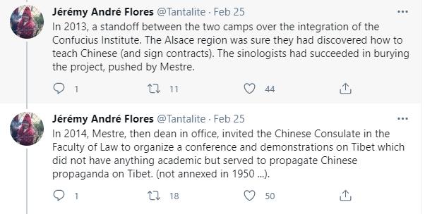 法国粹者说了几句关于中国的实话后,竟被逼告退!