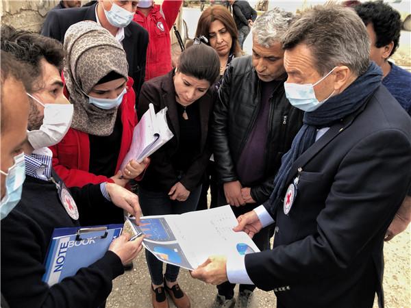 红十字国际委员会主席敦促国际社会寻找解决叙利亚危机新途径