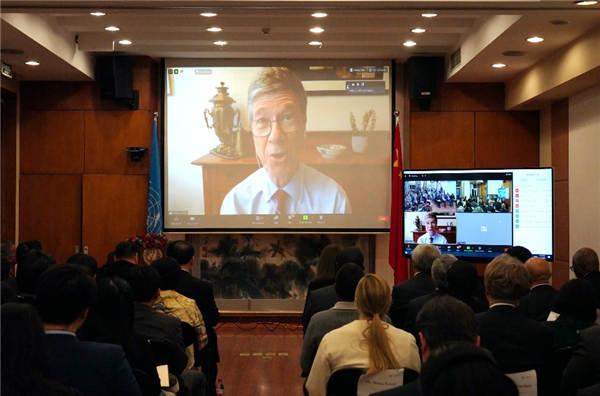 杰弗里·萨克斯:中国领导力对于实现联合国可持续发展目标至关重要
