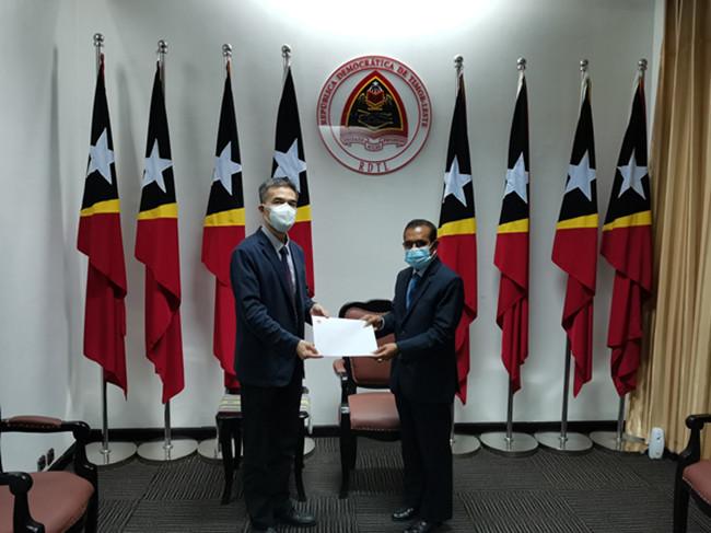 中国驻东帝汶大使:中国政府决定向东帝汶捐赠疫苗