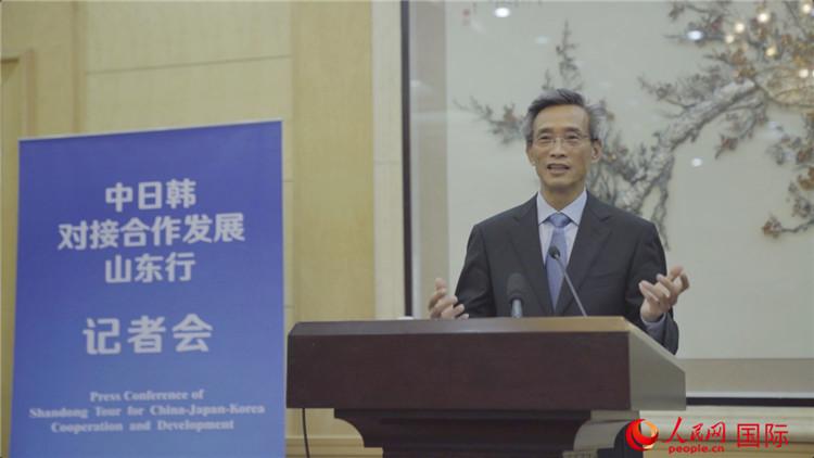 林松添:发挥民间外交优势  促进中日韩互利共赢