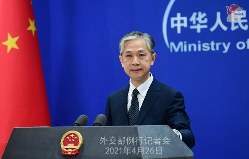 外交部:中俄在维护各自主权、安全和发展利益上相互理解