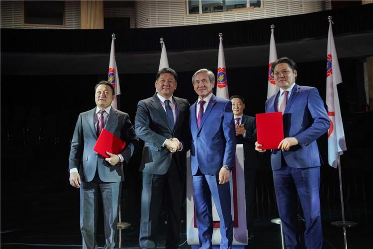 蒙古人民革命党正式并入蒙古人民党