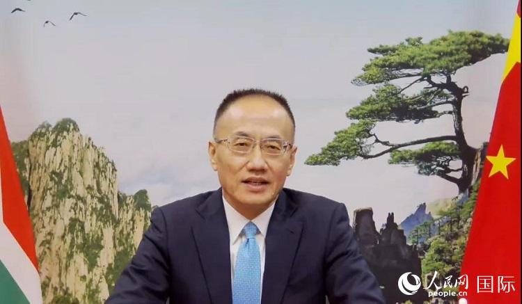 中南连系举行中国南非投资与商业推进会陈晓东大使提出三点但愿激发共识