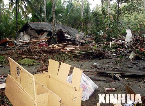 印尼海啸死亡人数超过300人