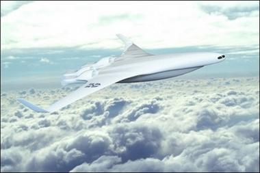 尽管类似的飞机机身设计方案早已在远程轰炸机身上