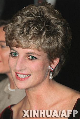 这是1992年11月15日拍摄的戴安娜王妃资料照片.-英公布戴妃死因