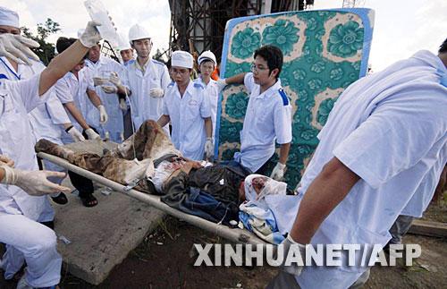 越南在建大桥坍塌 至少60人死亡