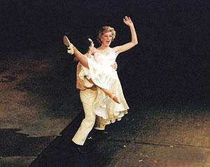 戴安娜王妃芭蕾舞旧照曝光