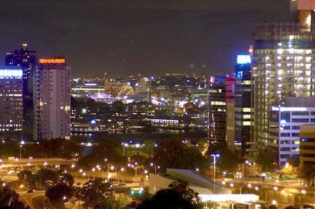 悉尼 达令港夜景(资料图)-悉尼景点达令港发生五百人群殴事件图片