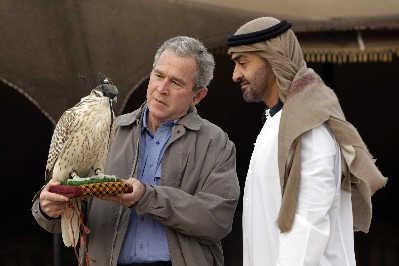 布什鼓动阿拉伯国家围堵伊朗(图)