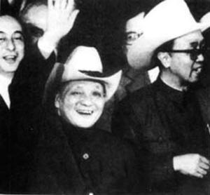 """美国给中国领导人戴过的三顶""""高帽""""(组图)"""
