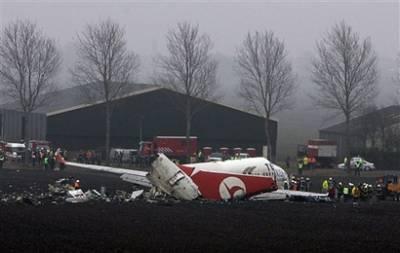 土耳其航空公司方面表示,在飞机坠毁前,事发地点上空天气较好,能见度