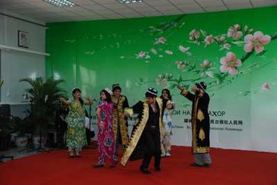 中塔友谊杏林诗歌朗诵会 在北京农学院隆重举行 11