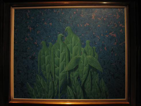 新博物馆位于布鲁塞尔市中心皇家广场、比利时皇家美术馆的配楼,展馆共2500平方米,是世界上雷尼·马格利特作品收藏最为丰富的博物馆,200多幅作品常年在此展出,包括油画、水粉画、素描、雕塑、广告插图、照片以及雷尼·马格利特执导的电影等.