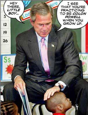 小布什鲜为人知的癖好,相当搞笑!!
