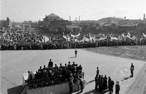 朝鲜 苏联/组图:老照片——1950年苏联影响下的朝鲜 (23)