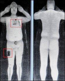 英国机场试行 裸体 扫描