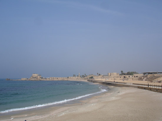 地中海沿岸,有一座罗马时期海港城市的遗迹——凯