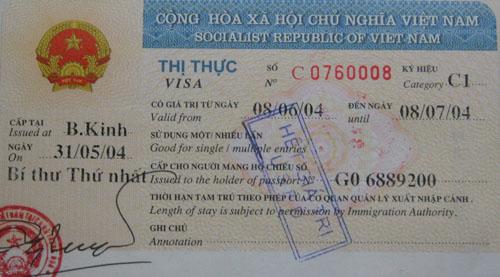 组图:中国驴友周游世界 网上晾晒各国签证 (3)