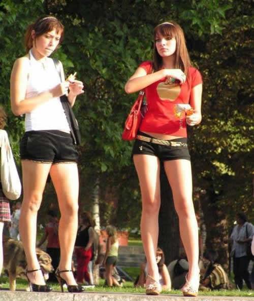 组图:丰乳翘臀长腿细腰+揭开俄罗斯美女多的