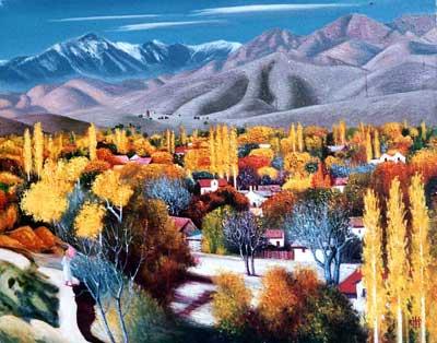 塔吉克斯坦艺术大师法·涅戈马特-扎杰画廊 (3)