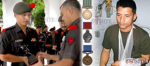 尼泊尔士兵以一把刀单挑40人的武装劫匪