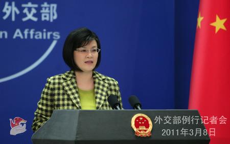 外交部发言人就中东局势、中国南海问题等答记