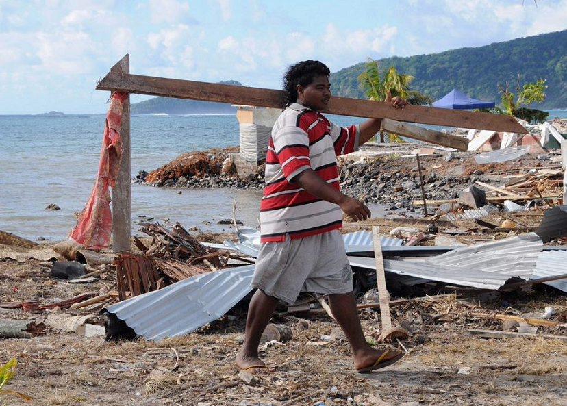 9月29日,萨摩亚群岛附近海域发生里氏8级地震并引发海啸,造成至少184