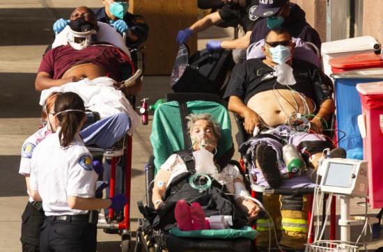 洛杉矶疫情恶化:每6秒钟感染一人每8分钟死亡一人