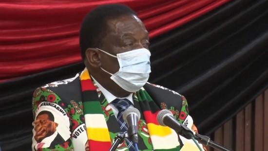 津巴布韦总统姆南加古瓦:再次对中国向津援助新冠疫苗表示感谢
